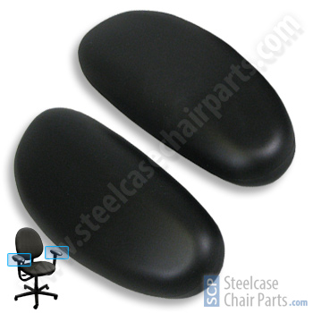 Steelcase Criterion Chair Replacement Arm Pads 49 99