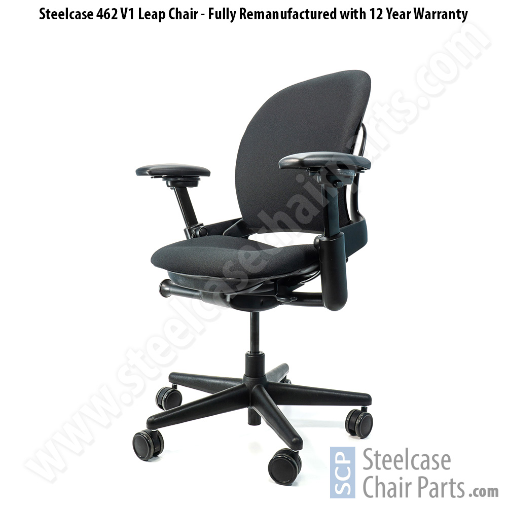 Remanufactured Steelcase V47 Leap Office Chair