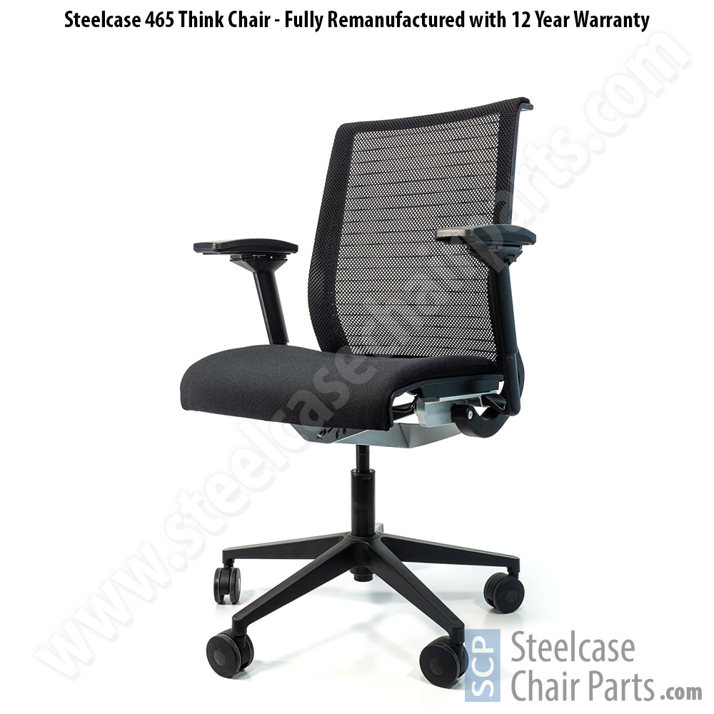 Remanufactured Steelcase Think Office Chair (Mesh Back)